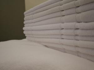 Vypraté a vyžehlené uteráky